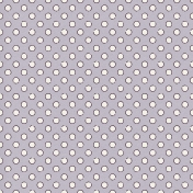Winter Wonderland Snow- Paper Purple Glitter Dots