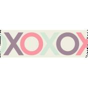 Lovestruck- Washi Tape XOXO
