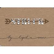 Lovestruck- Journal Card Struck