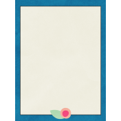 Love At First Sight- Journal Card Blue
