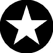 Shape Templates 1- Circle Star