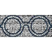 Doodle Navy Glasses 4