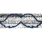 Doodle Navy Mustache 1