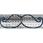 Doodle Navy Mustache 2