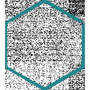 Doodle Hexagon Medium 2