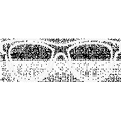 Doodle White Glasses 1
