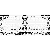 Doodle White Glasses 2