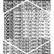 Doodle White Hexagon Large 2