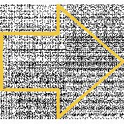 Doodle Yellow Arrow