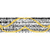 Doodle Yellow Mustache 3