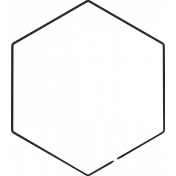 XY Doodle- Black Hexagon Large 2