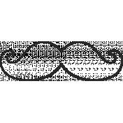 XY Doodle- Black Moustache 2