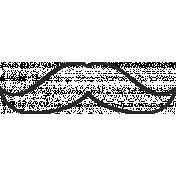 XY Doodle- Black Moustache 3