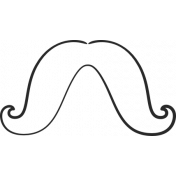 XY Doodle- Black Moustache 4