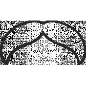 XY Doodle- Black Moustache 5