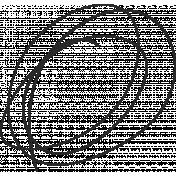 XY Doodle- Black Scribble 2