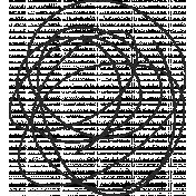 XY Doodle- Black Scribble 3