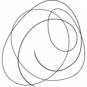XY Doodle- Black Scribble 4