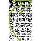 XY Doodle- Lime Arrow 2