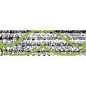 XY Doodle- Lime Moustache 3
