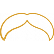 XY Doodle- Mustard Moustache 5