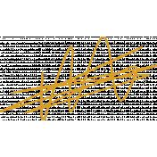 XY Doodle- Mustard Scribble 1