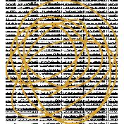 XY Doodle- Mustard Scribble 3