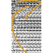 XY Doodle- Mustard Arrow 2