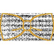 XY Doodle- Mustard Bow Tie