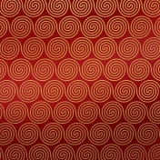 Paper- Christmas spirals in red