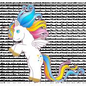 Unicorn standing up 2