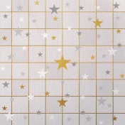 Paper – Squares and stars on gray