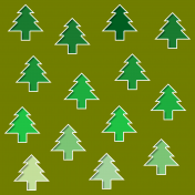 Paper- Christmas trees