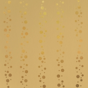 Paper – Bubbles New Year's Day in Champagne and Gold