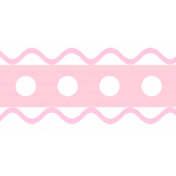 Ribbon – Baby/Child in pink
