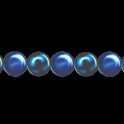 Ribbon – Princess pearls in blue