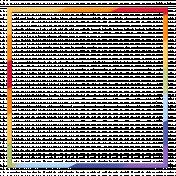Frame- Rainbow square