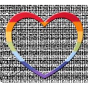 Heart – Rainbow 1