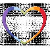 Heart – Rainbow 2