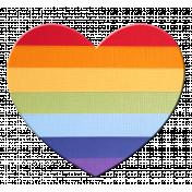 Heart – Rainbow 3