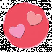 Button 2/4 – Happy Valentine 2021
