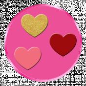 Button 3/4 – Happy Valentine 2021