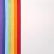 Paper- Rainbow colors