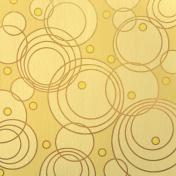 Paper- Glittering yellow circles