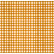 Plum & Marigold- Marigold Checked Seersucker Paper