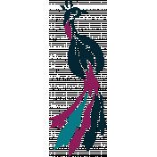 Tribal-Inspired Peacock, Back