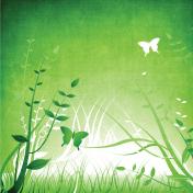Butterfly Flora Paper