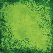 Grunge Flora Paper 2