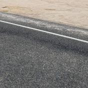 road sandy verge