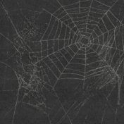 Halloween 2016: Patterned Paper 07 Cobwebs